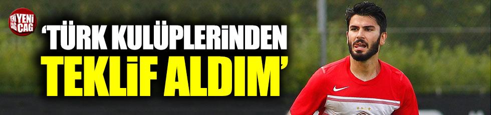 """Serdar Taşçı: """"Türk takımlarından teklif aldım"""""""