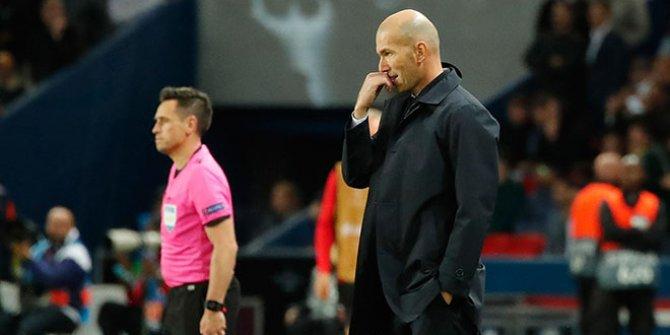 Zidane Real Madrid'den ayrılacak iddiası