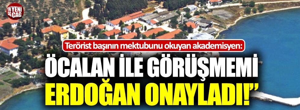 """Ali Kemal Özcan: """"Erdoğan, Öcalan ile görüşmeme engel olmadı"""""""