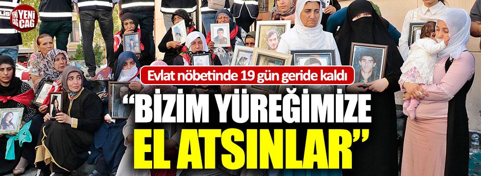 Diyarbakır'daki evlat nöbetinde 19 gün geride kaldı