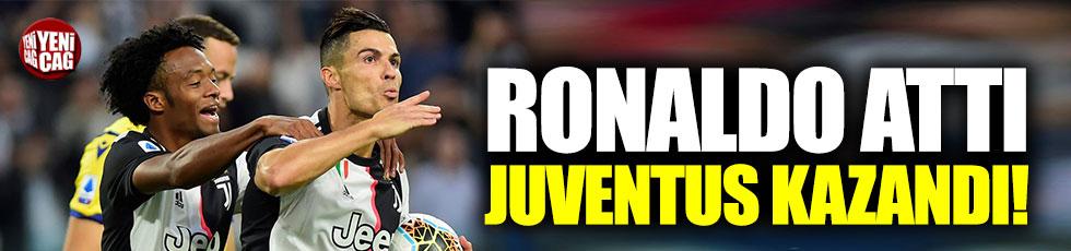 Ronaldo attı, Juventus kazandı!