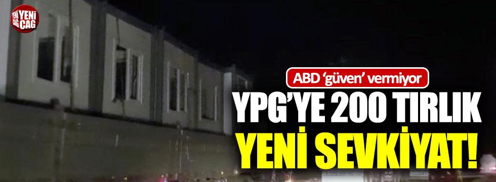 ABD'den YPG'ye yeni sevkiyat!