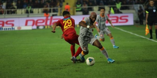 Yeni Malatyaspor - Galatasaray 1-1 (Maç özeti)