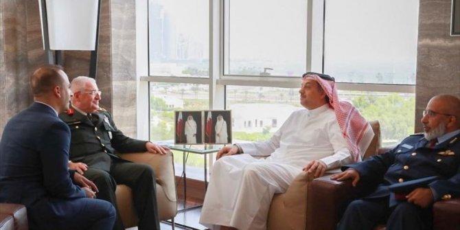 Org. Güler, Katar Savunma Bakanı'yla görüştü