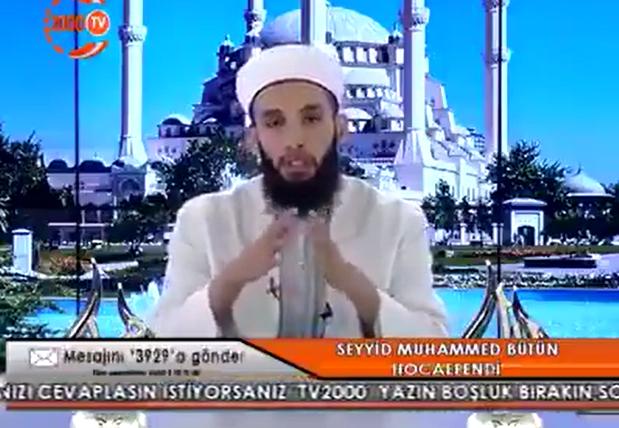 """Seyyid Muhammed Bütün: """"Saç ekimi caiz değildir"""""""