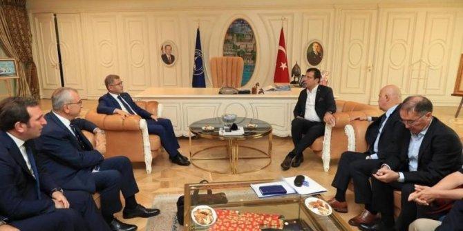 İmamoğlu'ndan AKP'li belediyeye ziyaret
