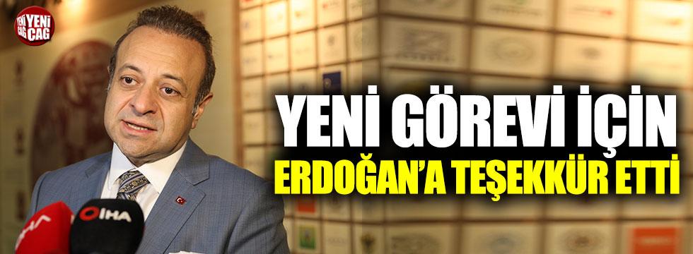 Egemen Bağış'tan Cumhurbaşkanı Erdoğan'a teşekkür