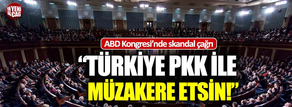 """ABD Kongresi'nde skandal çağrı: """"Türkiye PKK ile müzakere etsin!"""""""