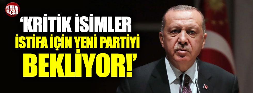 AKP'li kritik isimler istifa için neyi bekliyor?