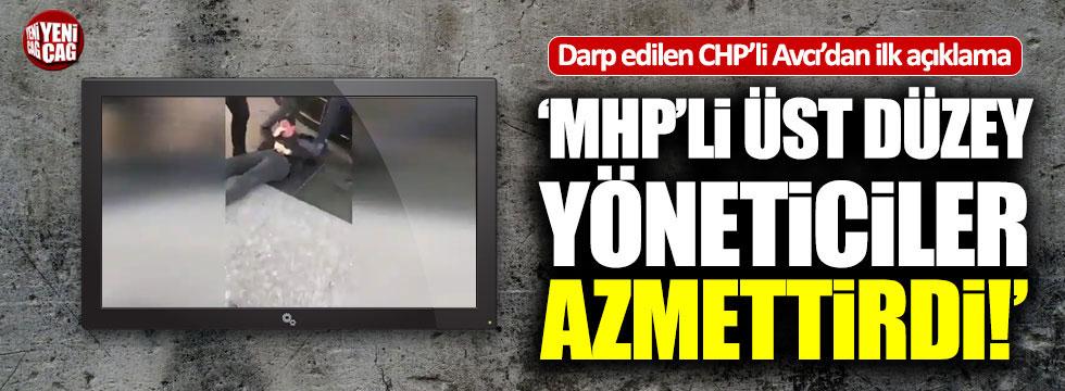 Darp edilen CHP'li Mücahit Avcı'dan açıklama
