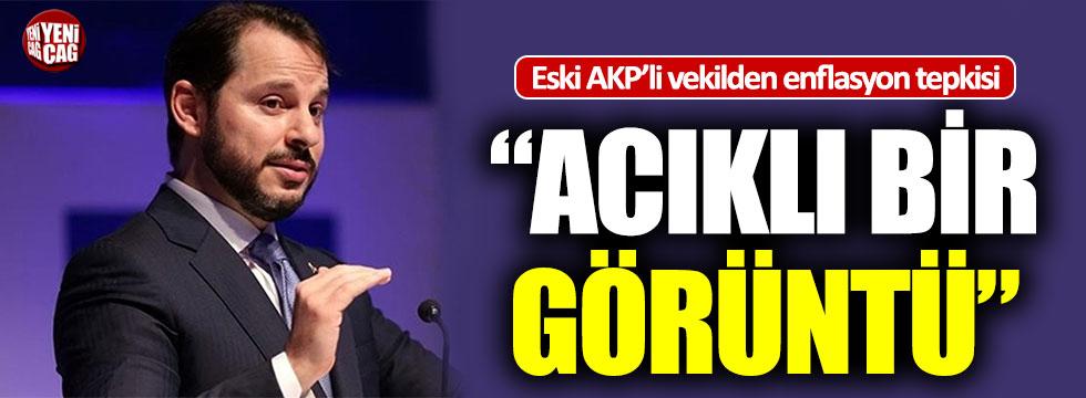 AKP'li eski vekilden enflasyon tepkisi