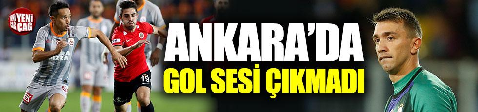 Gençlerbirliği - Galatasaray 0-0 (Maç özeti)