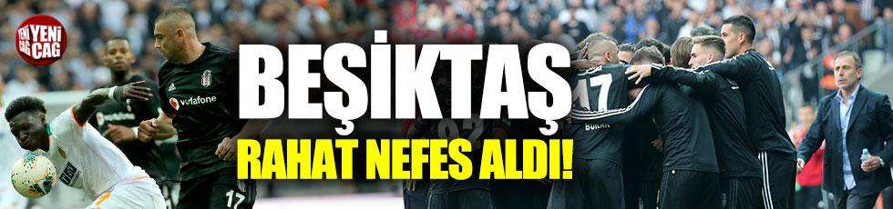 Beşiktaş - Alanyaspor 2-0 (Maç özeti)