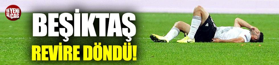 Beşiktaş'ta sakatlıklar can sıkıyor.