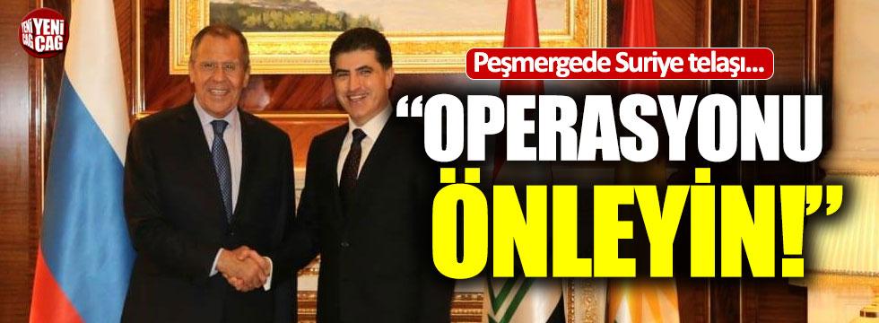 Peşmerge yönetimi Rusya'dan Türkiye'nin operasyonunu önlemesini istedi!