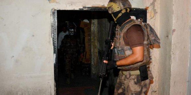 Adana merkezli 5 ilde suç örgütü operasyonu
