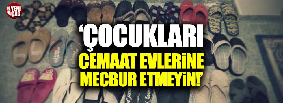 """CHP'li Tutdere: """"Çocukları cemaat evlerine mahkum etmeyin"""