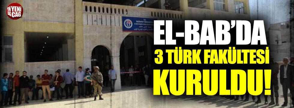 Gaziantep Üniversitesi El Bab Fakültesi açıldı