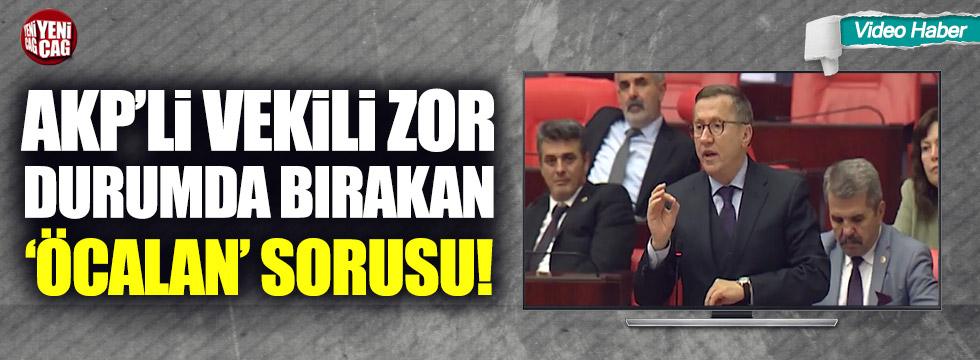 Lütfü Türkkan'ın sorusu AKP'li İsmail Bilen'i zor durumda bıraktı