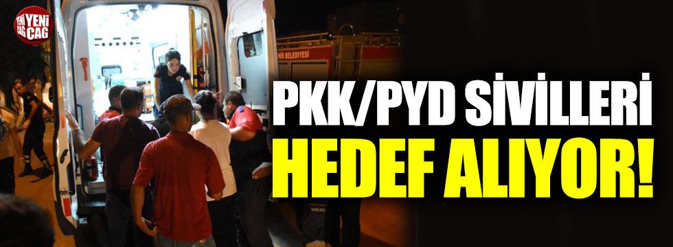 """MSB: """"PKK/YPG, sivilleri hedef alıyor"""""""