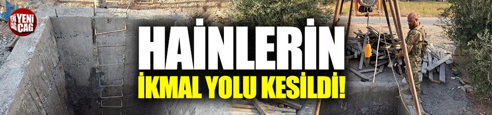 YPG/PKK'nın ikmal yolu da kesildi