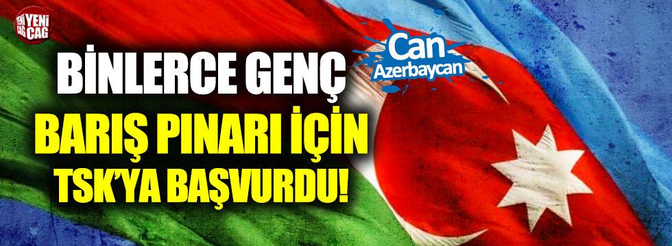 Can Azerbaycan: Binlerce genç Türk Ordusu'na katılmak için başvuruda bulundu!