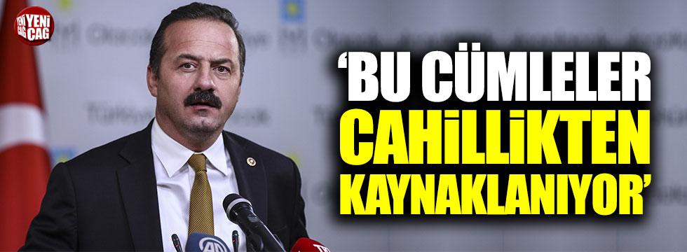İYİ Parti ve CHP'den Mahir Ünal'ın sözlerine destek