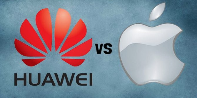 Huawei, Apple'a meydan okudu