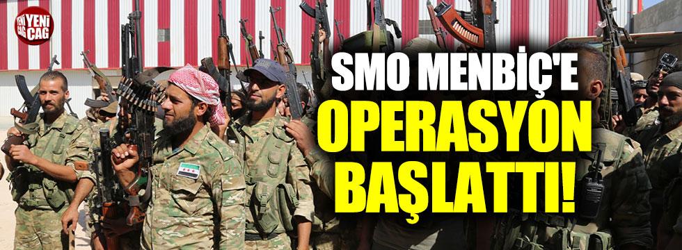 SMO Menbiç'e operasyon başlattığını duyurdu