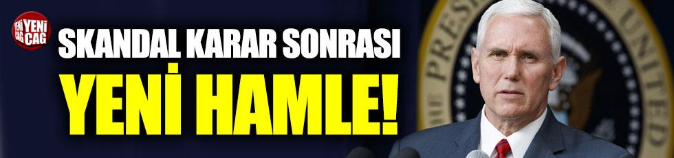 """Pence: """"Müzakere için Türkiye'ye geleceğim"""""""