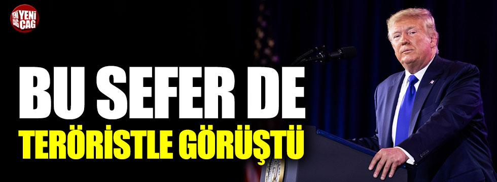 Trump ile YPG'li terörist arasında skandal görüşme!