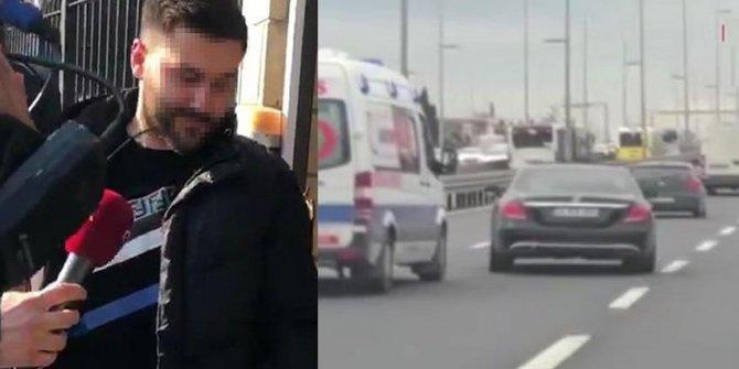 Ambulansa yol vermemişti! Cezası belli oldu!
