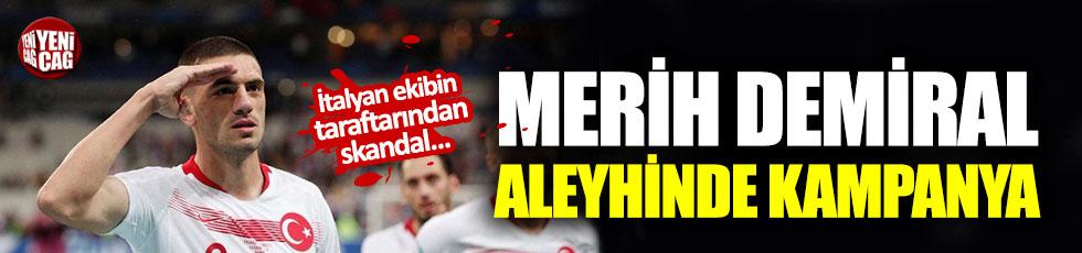 Merih Demiral aleyhinde #DemiralOut kampanyası