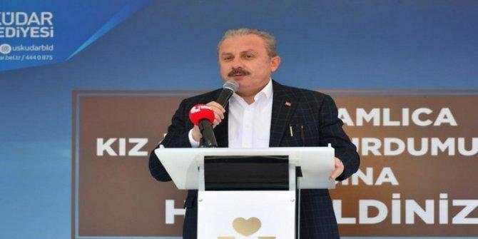 İktidara yakın Ensar Vakfı'nın yurdunu TBMM Başkanı açtı
