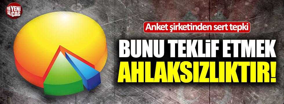 Anket şirketinden Barış Pınarı'yla ilgili teklife tepki!