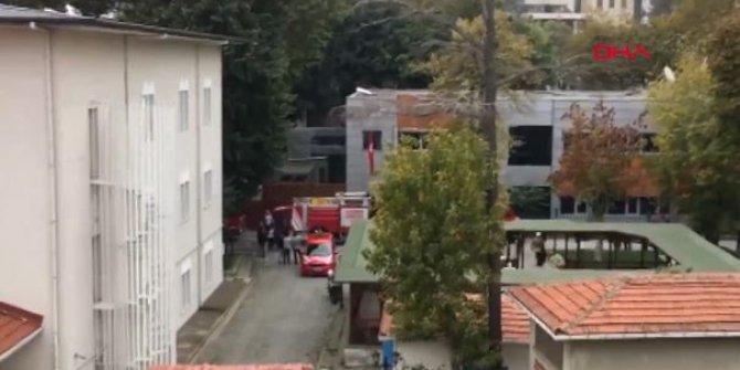 İstanbul Valiliği'nde yangın