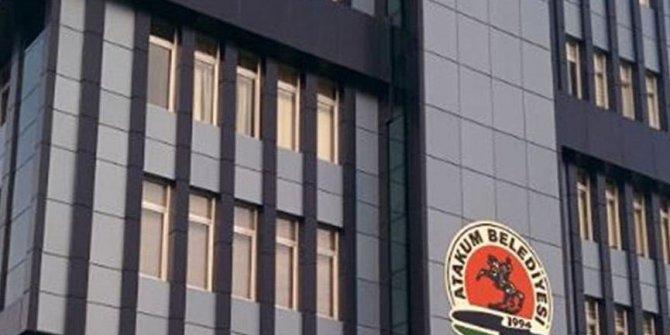 Samsun Atakum belediye binasında silahlar çekildi