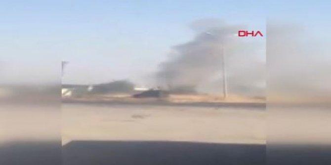 Teröristlerden Cizre'ye havan mermili saldırı!