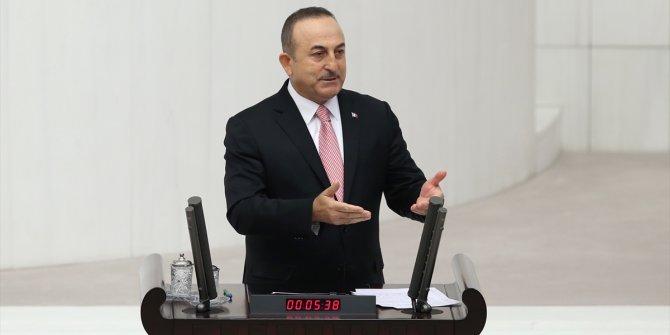 Çavuşoğlu'ndan Filistin savunması