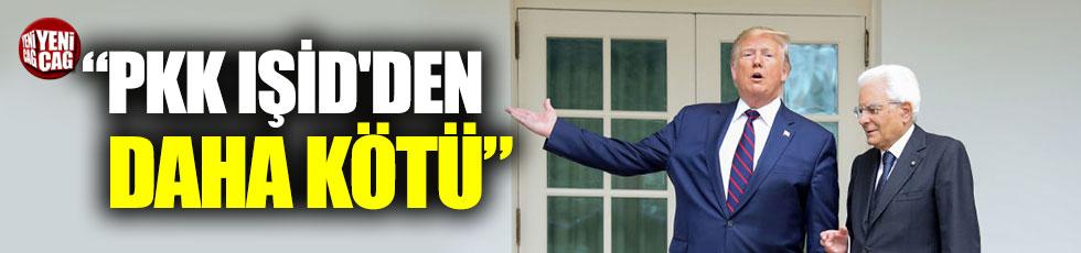 """Trump: """"PKK IŞİD'den daha kötü"""""""