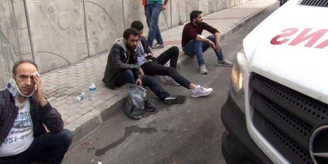 İstanbul'da işçi servisi kaza yaptı: Yaralılar var