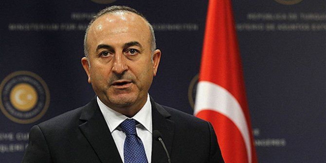 Mevlüt Çavuşoğlu'ndan kimyasal silah açıklaması