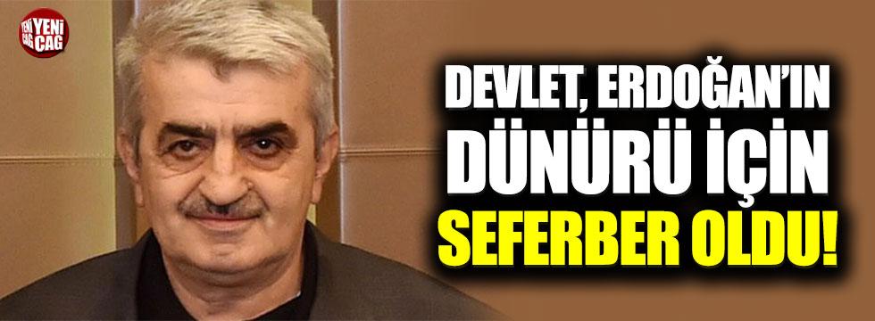 Devlet, Erdoğan'ın dünürü için seferber!