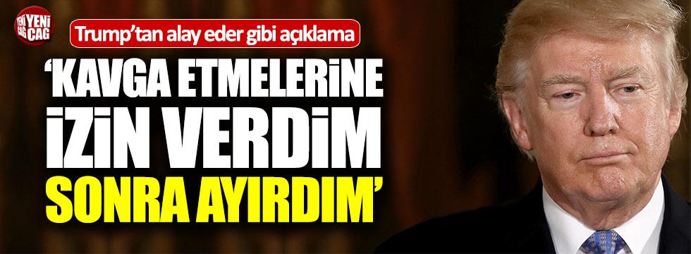 Trump'tan Türkiye ve PYD açıklaması