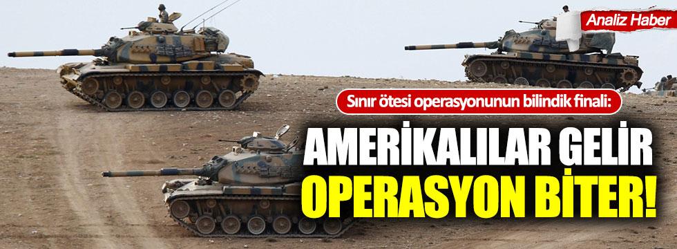 Sınır ötesi operasyonun bilindik finali: Amerikalılar gelir ve operasyon biter