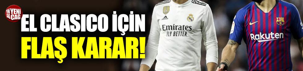 Barcelona - Real Madrid maçı ertelendi