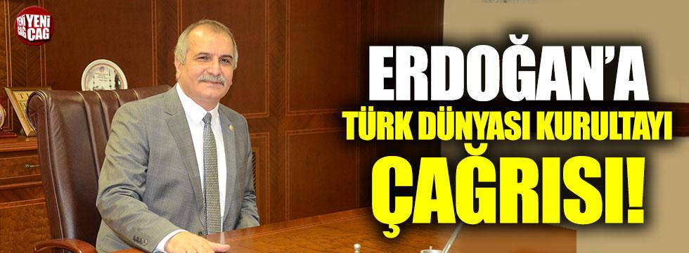 Ahmet Çelik'ten Türk Dünyası Kurultayı çağrısı