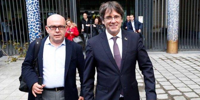 Teslim olan Katalan lider Puigdemont serbest