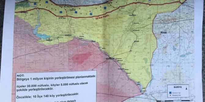 12 yeni gözlem noktasının haritası