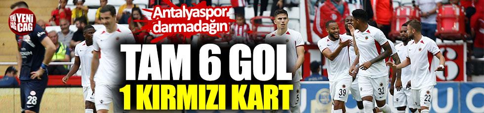 Antalyaspor 0-6 Gençlerbirliği / Maç özeti